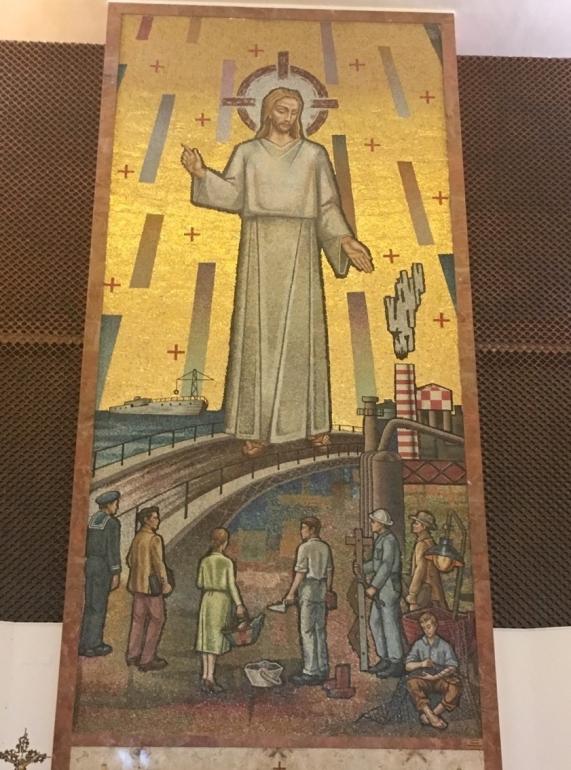 Jesus heavenly worker