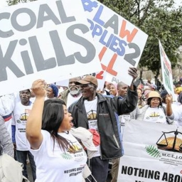 Fighting fossil fuels in South Africa, campaigners invoke the spectre of climate chaos
